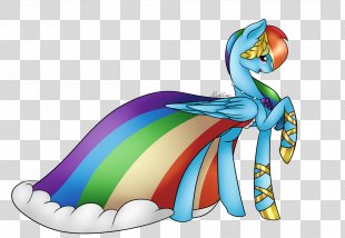 Rainbow Dash Rarity Pony Dress Clothing - Rainbow PNG