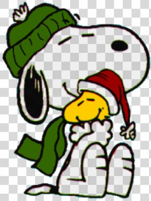 Snoopy Woodstock Clip Art Christmas Peanuts - Snoopy PNG