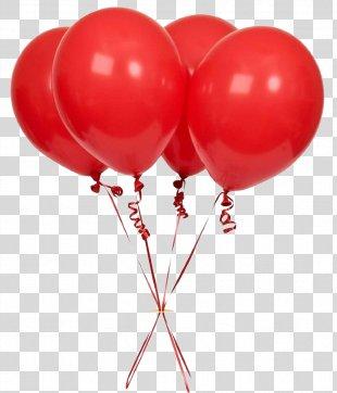 Cluster Ballooning Birthday Clip Art - Balon PNG