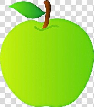 Green Leaf Apple Fruit Clip Art - Food Tree PNG