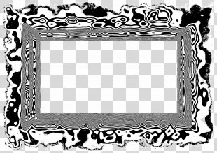 Black And White Picture Frames - White Frame PNG
