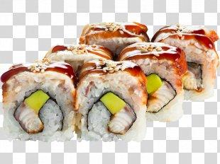California Roll Makizushi Sashimi Sushi Gimbap - Sushi PNG
