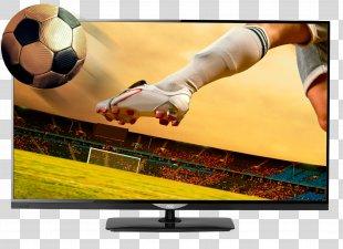 Smart TV 1080p LED-backlit LCD 3D Television High-definition Television - Tv PNG
