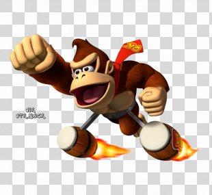 Donkey Kong: Barrel Blast Donkey Kong Country Returns Donkey Kong 64 - Donkey PNG
