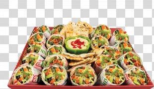 Hors D'oeuvre Vegetarian Cuisine Canapé Wrap Pita PNG