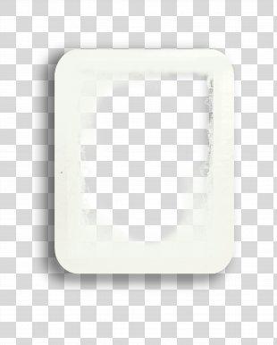 White Motif Clip Art - White Frame PNG