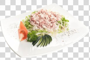 Salad Garnish Leaf Vegetable Asian Cuisine Food - Salad PNG