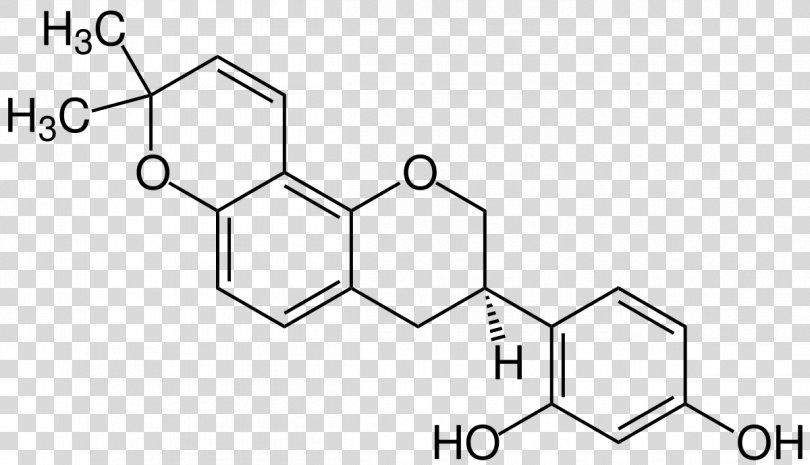 Glabridin Organic Chemistry Liquorice Structural Formula, Glycyrrhiza PNG