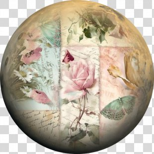 Paper Decoupage Painting Canvas - Painting PNG