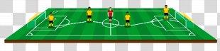 Football Pitch Drawing Cartoon Stadium - Football Field PNG