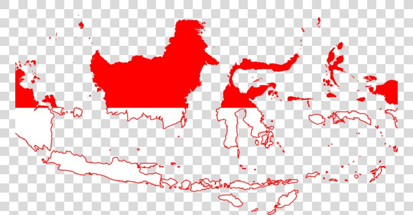 Indonesian Map Flag Of Indonesia, Asean Map PNG