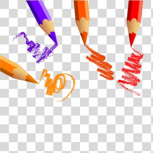 Colored Pencil Drawing - Creative Color Pencil PNG