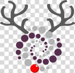 Reindeer Antler Drawing Clip Art - Reindeer PNG