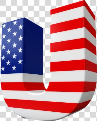 Flag Of The United States Letter Independence Day National Flag - American Flag PNG