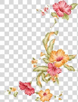 Picture Frames Flower Clip Art - Gold Flower PNG