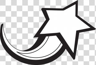 Shooting Stars Clip Art - WHITE STARS PNG