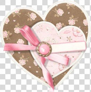 Paper Clip Art - Hearts Cluster PNG