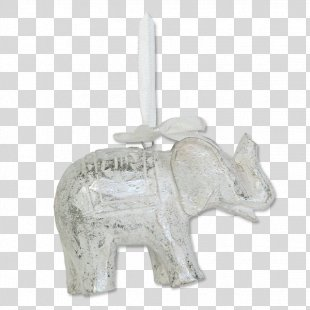 Gold Star Ornament Balizen Home Store Ubud Indian Elephant Silver Christmas Ornament - Home Decoration Materials PNG