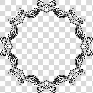 Picture Frames Black And White Ornament Clip Art - White Frame PNG