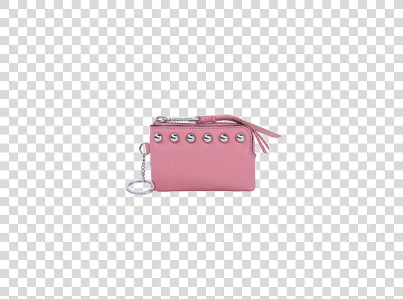 Coin Purse Handbag Wallet Pink, Pink Strap Purse PNG