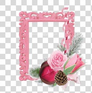 Floral Design Artificial Flower Picture Frames Cut Flowers - Flower PNG