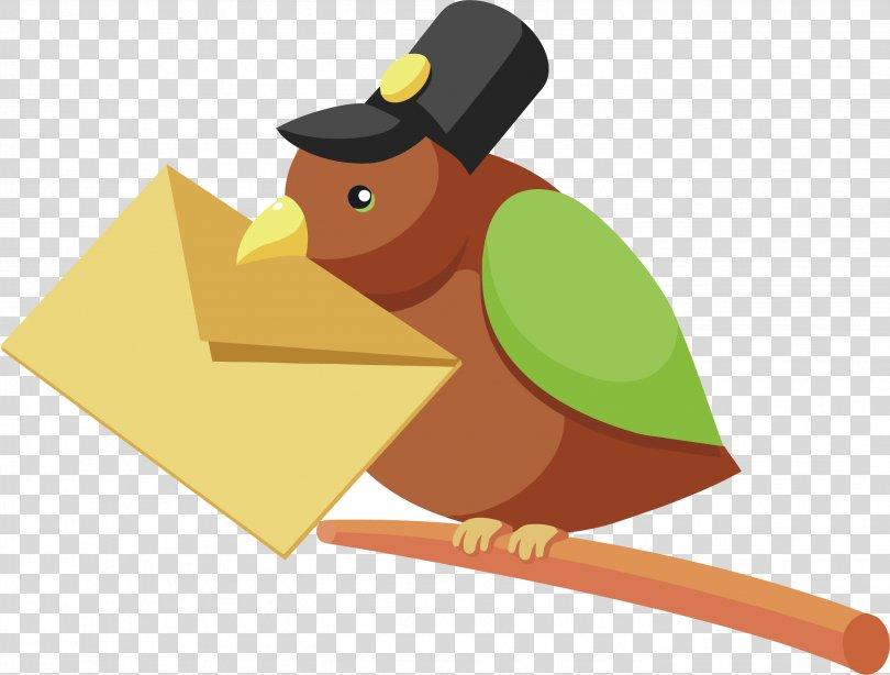 Bird Beak Cartoon, Bird Vector Element PNG