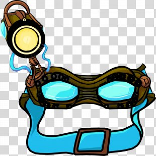 Goggles Club Penguin Ghost Glasses Eyewear - GOGGLES PNG