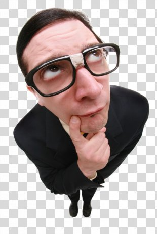 Clip Art Humour Image Person Thought - Thinking Man PNG