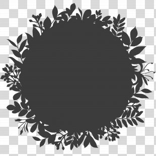 Logo Tile Ornament Wallpaper - Black Logo Background Shading Pattern Garland PNG