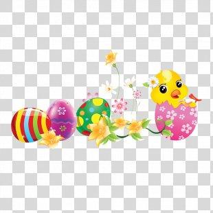 Easter Bunny Easter Egg Egg Hunt Moveable Feast - Colorful Easter Egg's PNG