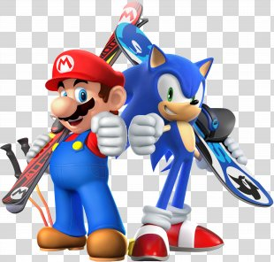 Mario & Sonic At The Olympic Games Mario & Sonic At The Sochi 2014 Olympic Winter Games Mario & Sonic At The Olympic Winter Games 2014 Winter Olympics Mario & Sonic At The Rio 2016 Olympic Games - Games PNG