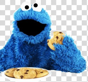 Cookie Monster Chocolate Chip Cookie Biscuits - Cookie Monster PNG