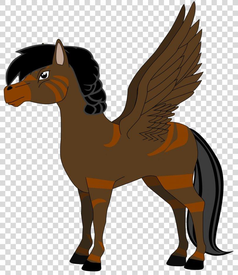 Pony Striped Hyena Heathcliff, Pegasus Vector PNG