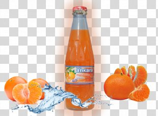 Orange Soft Drink Clementine Fizzy Drinks Orange Drink Orange Juice - Orange PNG
