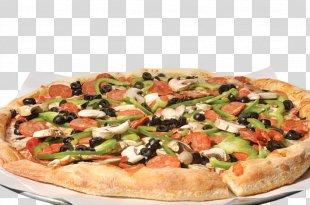 California-style Pizza Sicilian Pizza New York-style Pizza Vegetarian Cuisine - Pizza PNG