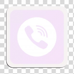 Application Icon Call Icon Calling Icon - Magenta Symbol PNG