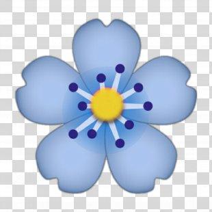 Emoji IPhone Flower Sticker - Emoji PNG