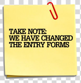 Post-it Note Paper Clip Art - Taking Note PNG