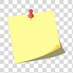 Post-it Note Paper Drawing Pin Clip Art - Post It Note Sticker PNG