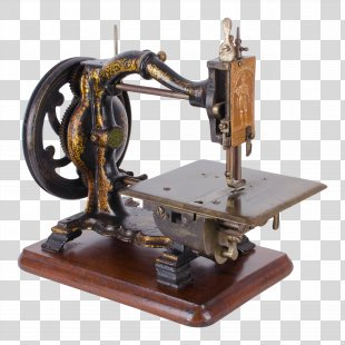 Sewing Machines Sewing Machine Needles Industrial Revolution - Hand Painted Sewing Machine PNG