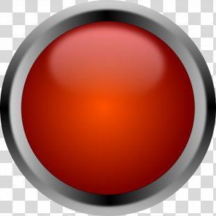 Button Red Clip Art - Shine PNG