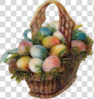 Easter Bunny Easter Basket Easter Egg Clip Art - Easter PNG
