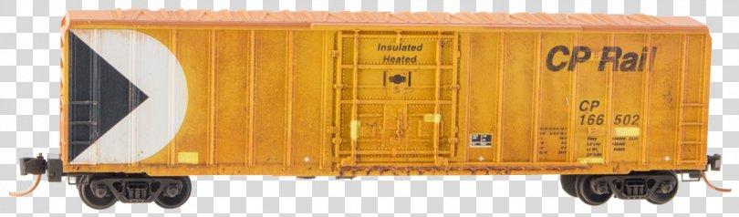 Goods Wagon Train Rail Transport Railroad Car, Acf Boxcars PNG