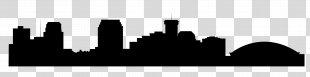 Skyline Silhouette Clip Art - Skyline PNG