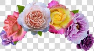 Wreath Flower Emoji Crown - Flower PNG