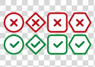 Check Mark Icon Design Icon - Right Or Wrong Fork Hook Icon Design Vector PNG