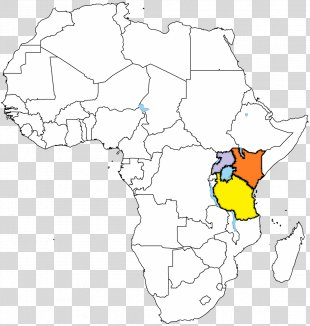 Africa Coloring Book Blank Map World Map - Africa PNG