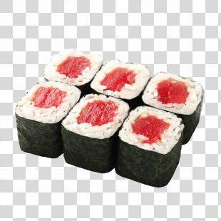 Makizushi Sushi Sake Unagi Thunnus - Sushi PNG