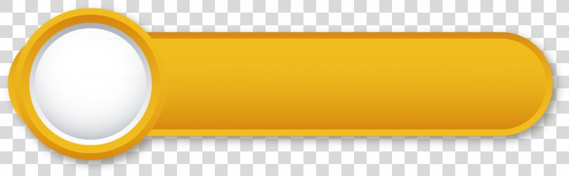 Brand Material Yellow, Yellow Sliding Button Element PNG