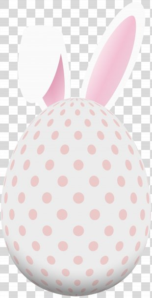 Easter Bunny Easter Egg Rabbit - Pink Bunny Ears PNG